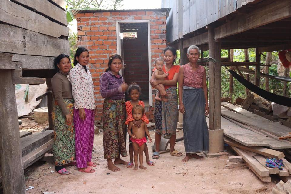 Toiletten in Chong Spean