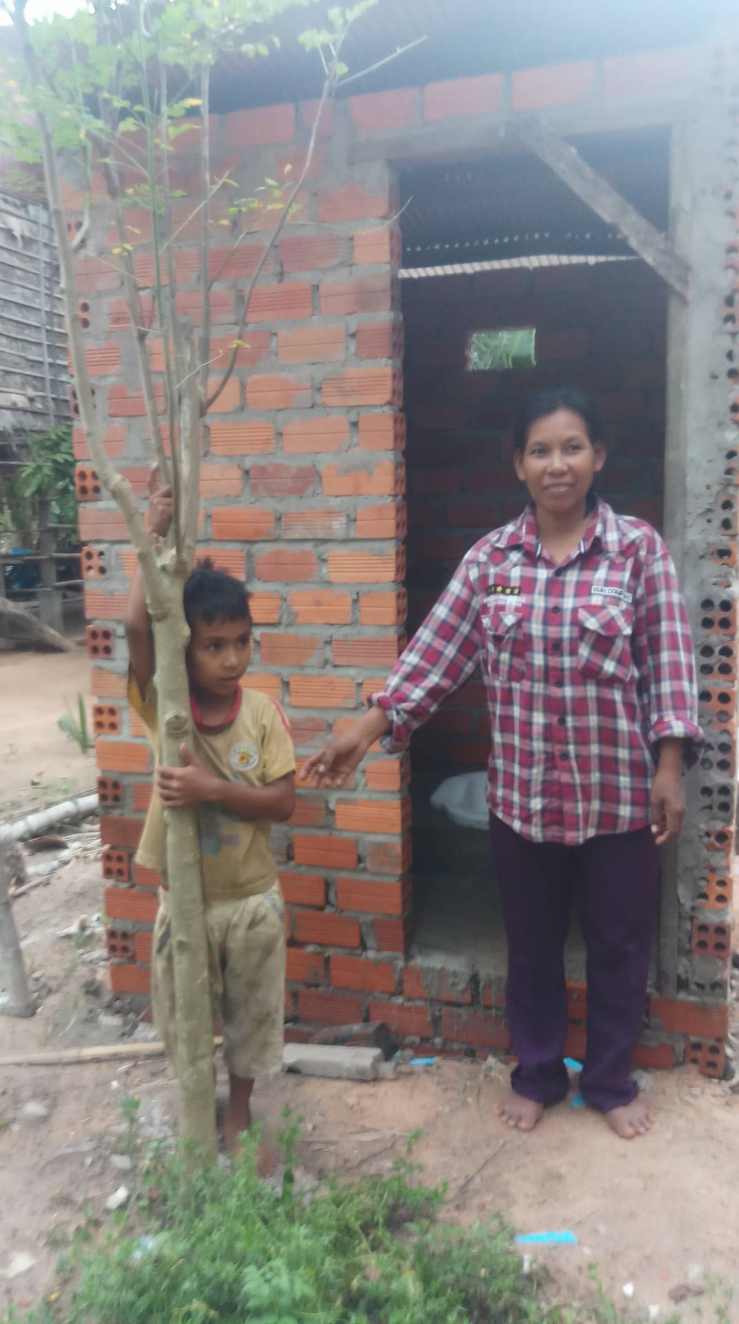 openbare toiletten Cambodja