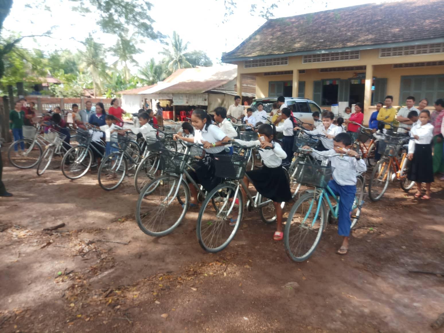 Fietsenproject Cambodja