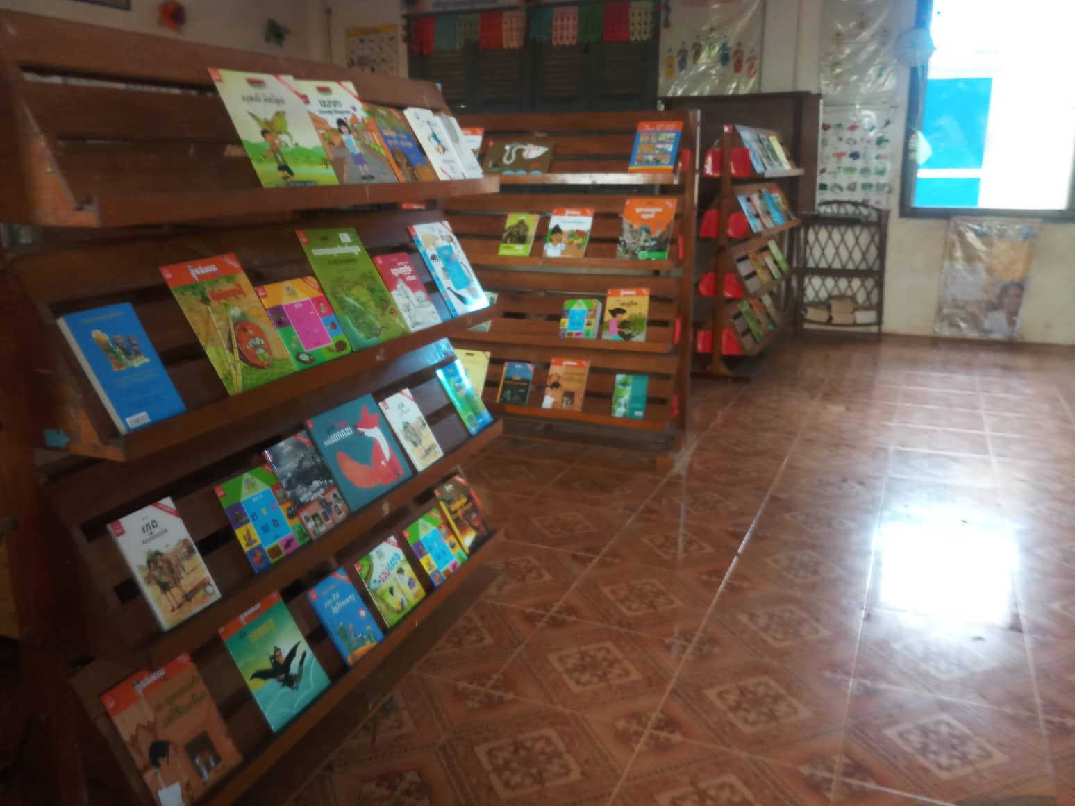 Bibliotheek Cambodja