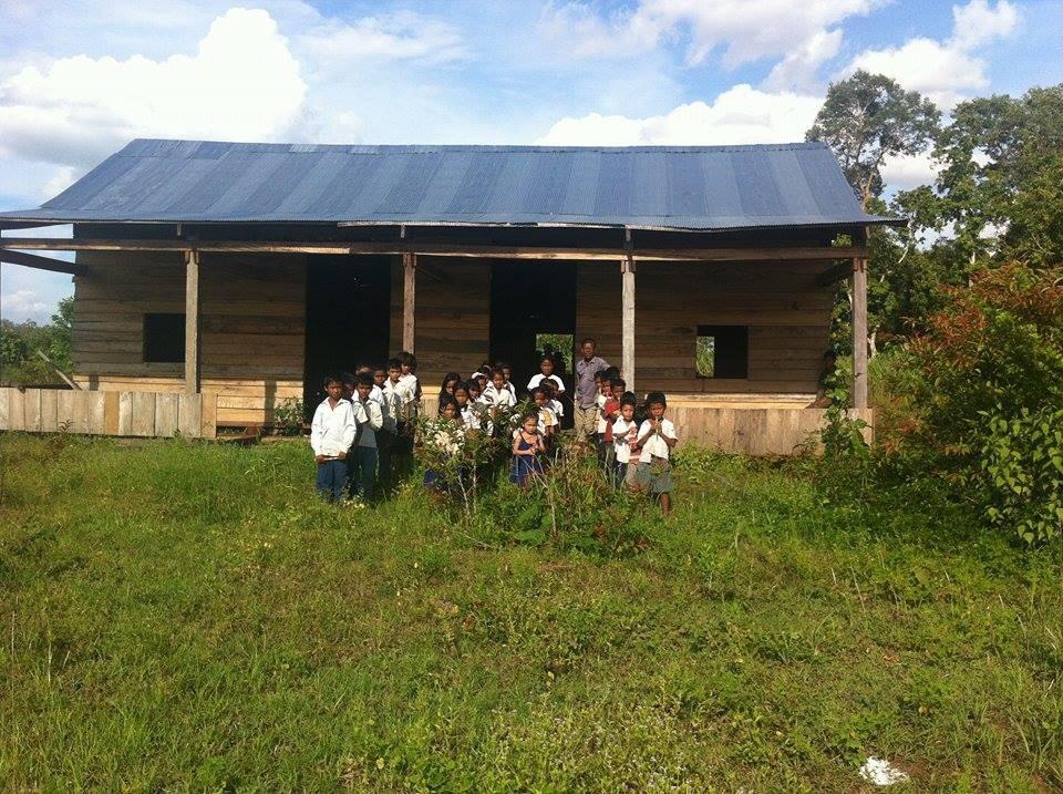 School in Chong Spean